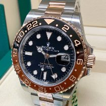 Rolex 126711CHNR Gold/Steel 2018 GMT-Master II 40mm pre-owned United Kingdom, Wilmslow