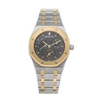 Audemars Piguet Royal Oak Dual Time Steel 36mm Grey No numerals