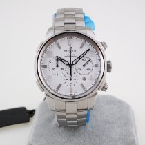 Perrelet Class-T Steel 44mm White Arabic numerals
