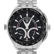 TAG Heuer SLR Steel 47mm Black No numerals United States of America, New York, Greenvale