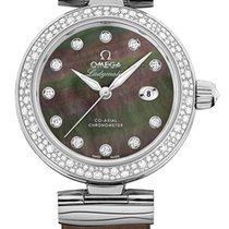 Omega De Ville Ladymatic Steel 34mm Mother of pearl United States of America, New York, Airmont
