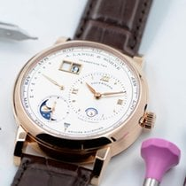 A. Lange & Söhne Lange 1 Rose gold 41.9mm Silver No numerals United States of America, Texas, Houston