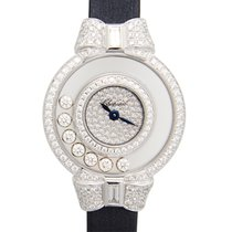 Chopard Happy Diamonds White Gold Diamond Transparent Skull...