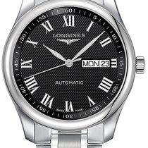 Longines Master Collection Steel 38.5mm Black United States of America, New York, Airmont