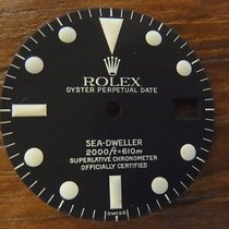 Rolex SEA DWELLER 1665 white service dial and set of hands...