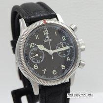 Tutima Flieger chronograph -Stahl/ Leder Ref.:1941