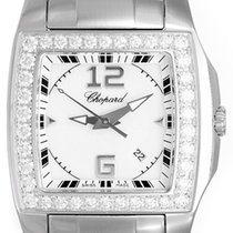 Chopard Two-O-Ten Stainless Steel & White Gold Men's or Ladies...