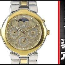 Seiko Credor Triple Calendar Moon Phase Mens Quartz Wrist...