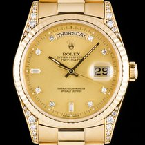 Rolex Day-Date Diamond Set 18338