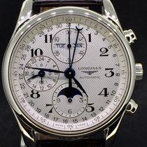 Longines Master Collection Steel Moonphase Day-Date 40MM MINT