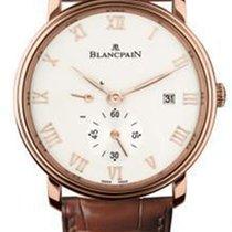 Blancpain 6606-3642-55b Or rose 2020 Villeret Ultra-Plate 40mm nouveau