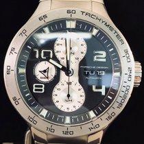 Porsche Design Flat Six Chronograph Day-Date, Steel, Automatic...