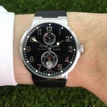 Ulysse Nardin 41mm Automatik 2003 gebraucht Marine Chronometer 41mm Schwarz