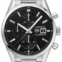 TAG Heuer CBK2110.BA0715 Staal Carrera Calibre 16 41,00mm