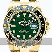 Rolex 116718LN Gulguld 2015 GMT-Master II 40mm begagnad Sverige, Stockholm