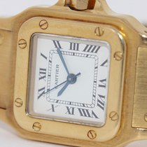 Cartier Santos Galbée pre-owned 24mm Yellow gold
