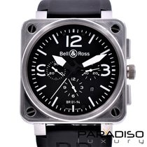 Bell & Ross BR 01-94 Chronographe nuovo 46mm Acciaio