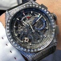 Zenith Defy El Primero 32.9000.9004/78.R582 ZENITH Primero 21 Titanio Diamanti Nero new
