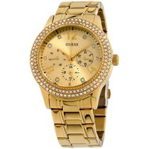 Guess 40mm Quartz new Gold