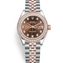 Rolex Lady-Datejust новые 2019 Автоподзавод Часы с оригинальными документами и коробкой M279381RBR-0011