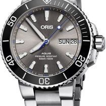 Oris Hammerhead Limited Edition Steel 45.5mm Grey United States of America, New York, New York