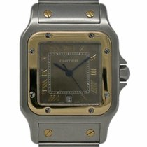 Cartier 1566 Steel 1992 Santos Galbée 29mm pre-owned United States of America, Florida, 33132