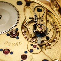 A. Lange & Söhne Gelbgold 51mm Handaufzug gebraucht