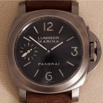 Panerai Luminor Marina tweedehands 44mm Zwart Leer