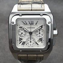 Cartier Santos 100 Stahl 41mm Silber Römisch Deutschland, Essen Kettwig
