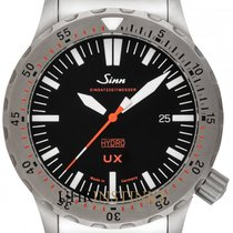 Sinn UX Steel 44mm Black