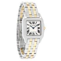 Cartier Santos Demoiselle новые Кварцевые Часы с оригинальной коробкой W25067Z6