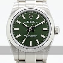 Rolex Oyster Perpetual 26 Steel 26mm Green