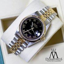 Rolex Lady-Datejust Gold/Steel 26mm Black