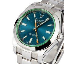 Rolex Milgauss Blu Dial - 116400gv