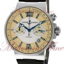 Ulysse Nardin Maxi Marine Chronograph, Silver & Ivory Dial -...