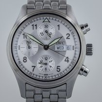 IWC Spitfire Pilot Chronograph, Mens, Automatic, Stainless...