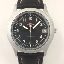 Fortis 35.5mm Automatic pre-owned Black