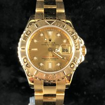 Rolex Yacht-Master Yellow gold 29mm No numerals