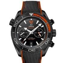 Omega Céramique Remontage automatique 45.5mm nouveau Seamaster Planet Ocean Chronograph