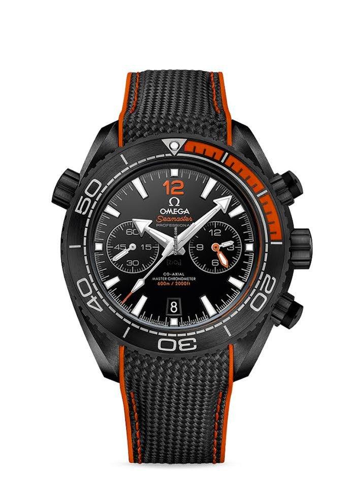 Omega Seamaster Planet Ocean Chronograph 215.92.46.51.01.001 2021 neu