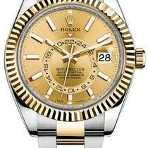 Ρολεξ (Rolex) Sky-Dweller Champagne face