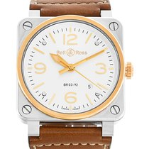 Bell & Ross Watch BR03-92 BR0392-ST-PG/SCA