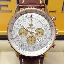 Breitling Navitimer K41322 Yellow Gold - Serviced by Breitling