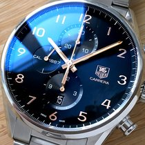 TAG Heuer - Manufacture Calibre 1887 Carrera Chronograph -...