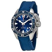 ハミルトン Khaki Navy Frogman Automatic Blue Dial Men's Watch...
