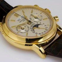 Patek Philippe Perpetual Calendar Chronograph używany 36mm Żółte złoto