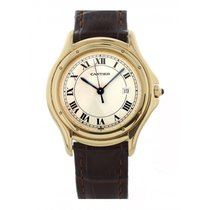 Cartier Cougar pre-owned 32mm Yellow gold