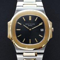 Patek Philippe 3700 Gold/Stahl 1990 Nautilus 41mm gebraucht