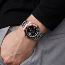 Rolex GMT-Master II tweedehands 40mm Zwart GMT Staal