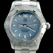 TAG Heuer Aquaracer Lady Staal 27mm Parelmoer Geen cijfers